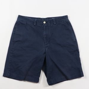 Vineyard Vines Mens 30 Club Spell Out Shorts Blue
